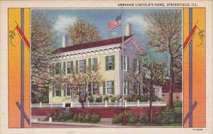 Illinois Springfield Abraham Lincolns Home