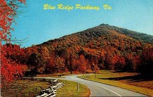 Virginia Blue Ridge Parkway During Autumn