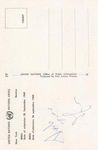 MALI Flag & Flag Stamp , 1960