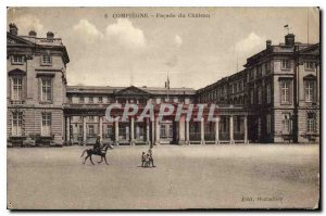 Old Postcard Compiegne Chateau of frontage