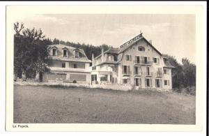 Hotel Des Tresoms, Annecy PPC Unposted, French Advertising Card