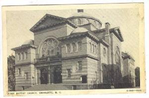 First Baptist Church, Charlotte, North Carolina, PU-1940
