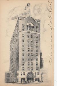 HARTFORD , Connecticut, 1910-30s ; Hotel Bond