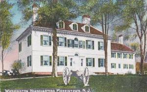 New Jersey Morristown Washington Headquarters 1916