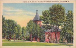 Virginia Lexington Lee Memorial Chapel Washington And Lee University