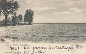 SWANTON, Vermont , PU-1906 ; The Lake, TUCK # 2368