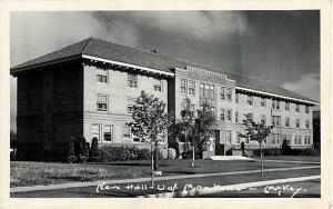 RPPC of the New Hall University of Montana in Missoula MT 1943