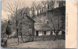 Monaca, Pennsylvania Postcard Old Baldwin Homestead House View 1911 Cancel