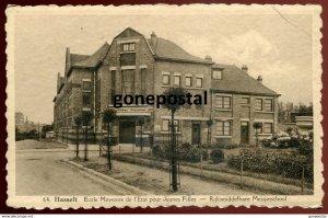 dc452 - BELGIUM Hasselt 1920s School for Girls