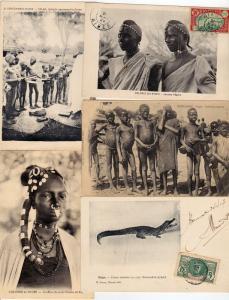 NIGER Afrique 47 Cartes Postales 1900-1940