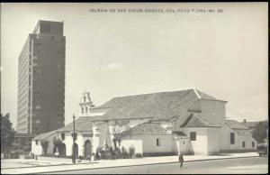 colombia, BOGOTA, Iglesia de San Diego (1950s) RPPC