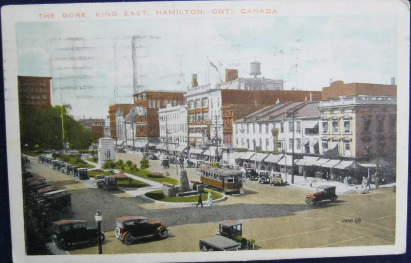 The Gore King East Hamilton Ontario Canada 1925