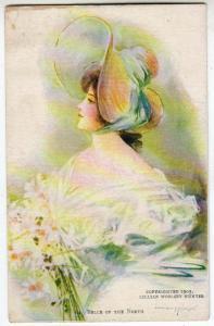 Fancy Dressed Lady by Lillian Woolsey Hunter