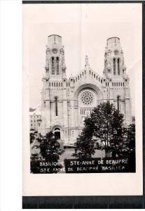 RP; STE-ANNE DE BEAUPRE, Quebec, Canada; Basilique, 1946-1948s