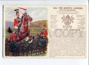 258069 UK ARMY IBBETSON 16th Queens Lancers OLD Gale & Polden