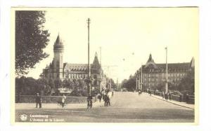 Luxembourg. L'Avenue de la Liberte, PU-1931