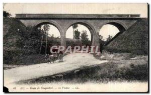 Old Postcard Eu Neufchatel Road Viaduct