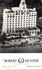 Florida Miami Beach The Robert Richter Hotel
