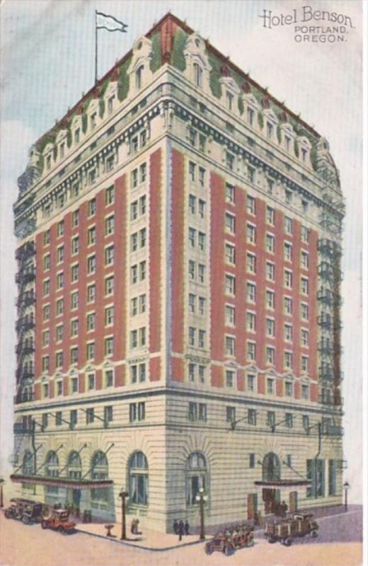 Oregon Portland Hotel Benson