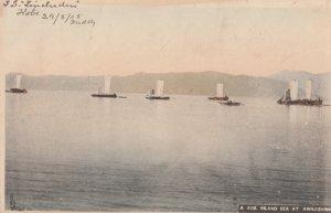 INLAND SEA AT AWAJISHIMA, Awaji Island, JAPAN, 1905 used Postcard