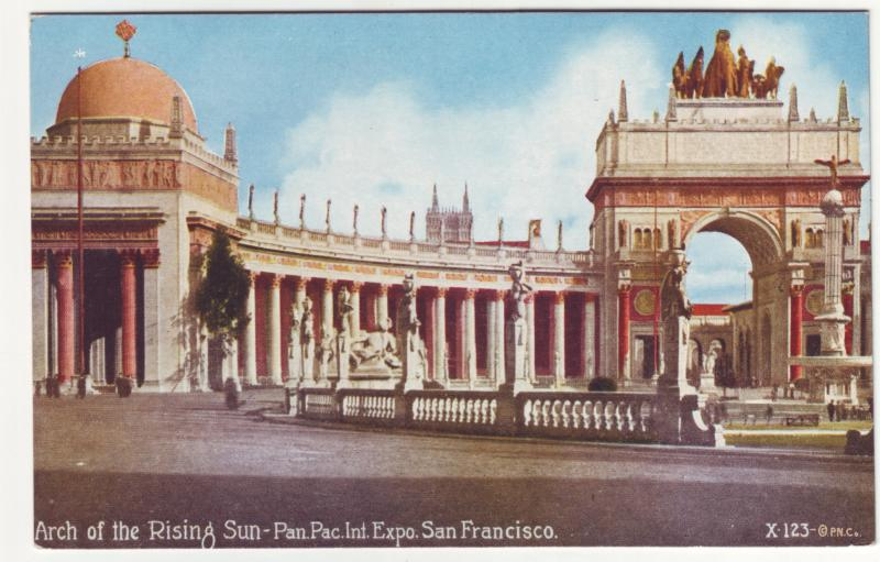 P450 JLs 1915 pan-pacific san francisco ca expo arch of rising sun