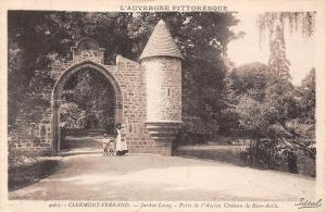 France Auvergne Clermont-Ferrand Jardin Lecoq - Porte Ancien Chateau Bien-Assis