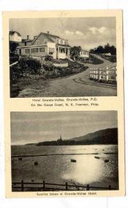Hotel Grande-Vallee, Grande-Valle, P.Q., Quebec, Canada, PU-1935
