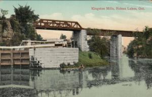 KINGSTON MILLS ,Ontario , Canada , 1909 ; Rideau Lakes