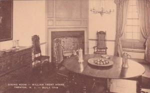 New Jersey Trenton Dining Room William Trant House