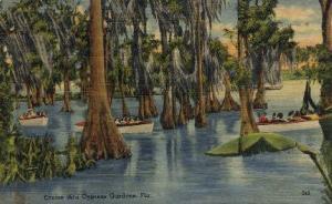 Cruise Cypress Gardens FL 1946