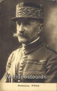 Marechal Foch France, Carte, Writing on back