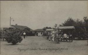 Ogunquit ME Lobster Pound Postcard