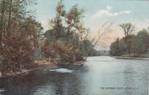 New York Rome The Mohawk River 1907 Rotograph