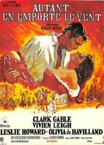 Gone With the Wind Movie Poster Postcard