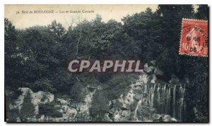 Old Postcard Bois de Boulogne Lake and Grand Cascade