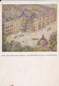 Hotel Und Kochbrunnen- Badhaus, Schwarzer Bock, Wiesbaden (Hesse), Germany, P...