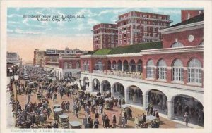 New Jersey Atlantic City Boardwalk View Near Haddon Hall
