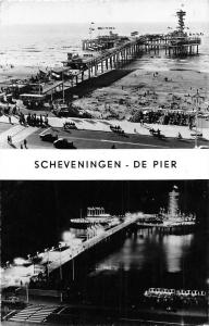 Netherlands Scheveningen De Pier, The Pier Promenade Voitures Cars Night view