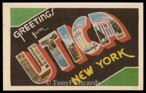 Greetings from Utica - New York