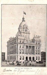 Georgia Savannah New City Hall 1906