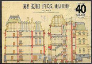 Australia, Melbourne, Public Records Office, unused