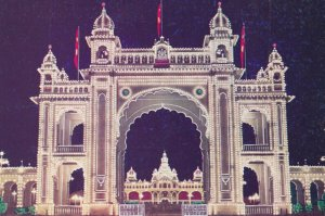 Front gate of the Palace  , MYSORE , India , 1940-50s
