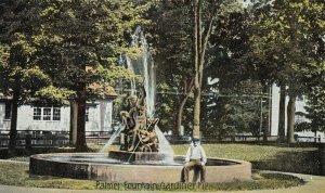 GARDINER , Maine , 1900-10s ; Palmer Fountain