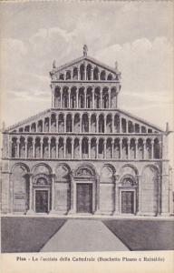 Italy Pisa La Facciata della Cattedrale