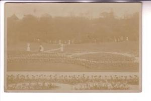 Real Photo, Garden in England, Used 1906