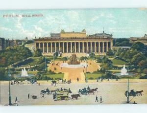 Old Postcard ROYAL MUSEUM Berlin Germany F5510
