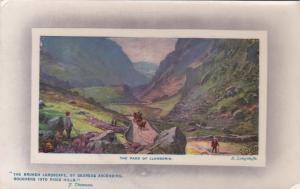TUCK #9759, Wales, UK, PU-1914; The Pass Of Llanberis