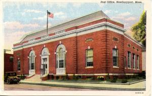 MA - Newburyport. Post Office