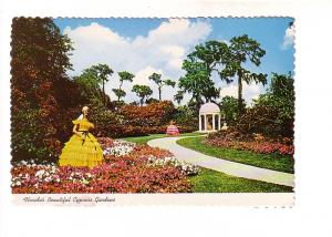 Women and Winding Footpath, Cypress Gardens, Florida,
