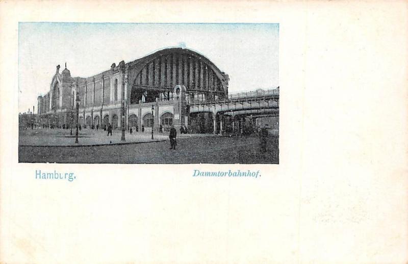 Germany Hamburg, Dammtorbahnhof AK